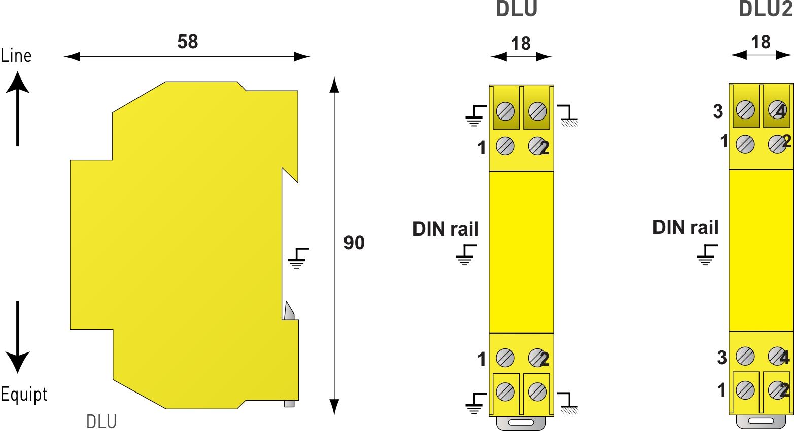 dlu-170信号电涌保护器